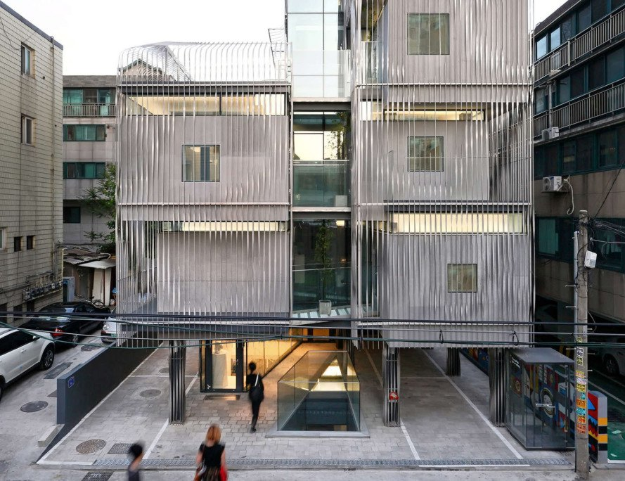 Songpa Micro-Housing, Seoul, SsD Architecture, micro-housing, green architecture, public spaces, auditorium, communal spaces, shared spaces, flexible design