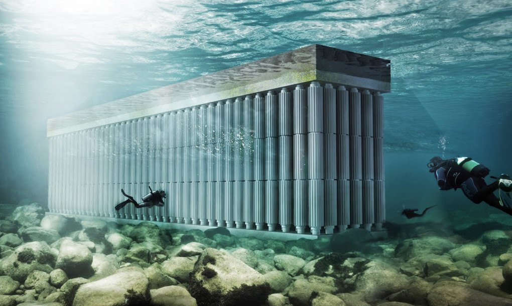 Waterstudio S Floating Sea Wall Harvests Blue Energy From