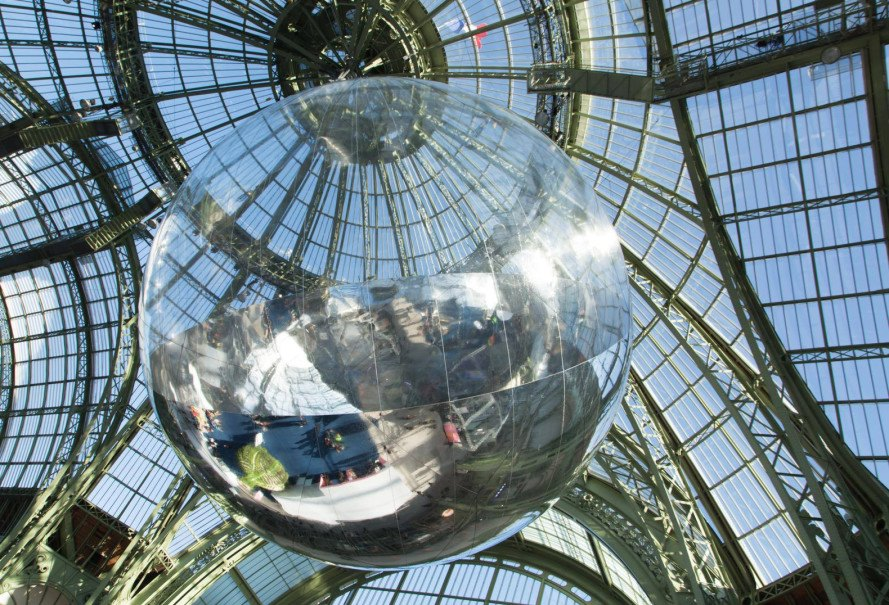 green design, eco design, sustainable design, Tomas Saraceno, United Nations Climate change Conference, COP21, Grand Palais
