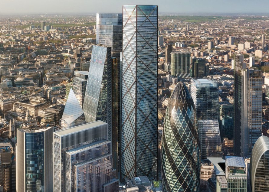 Architecture Buildings In London 1 undershafteric parry architects will be the tallest building