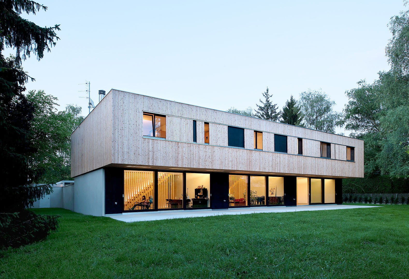 Nice Rammed Earth Attached Houses In Geneva Stay Cool Without Excess Energy Use