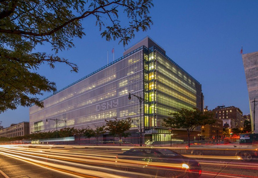 New department of sanitation complex is as green as it is for Architecture companies in nyc