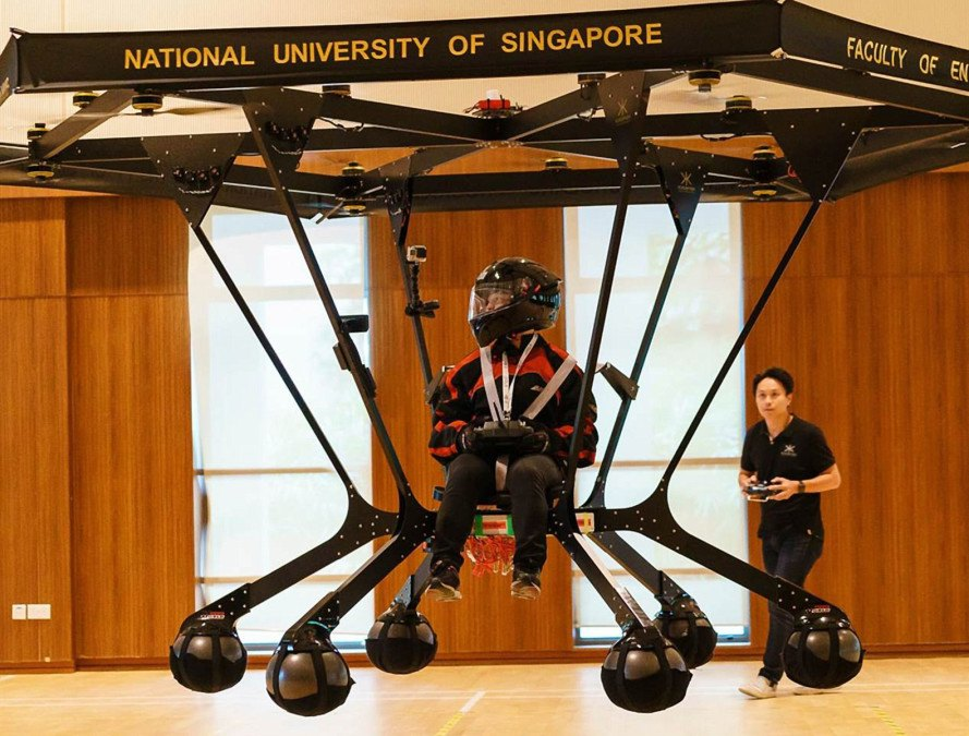 personal vehicles, recreational vehicles, snowstorm helicopter, personal helicopter, battery power, national university of singapore, singapore students, prototypes, personal transportation, flying machine, carbon fiber