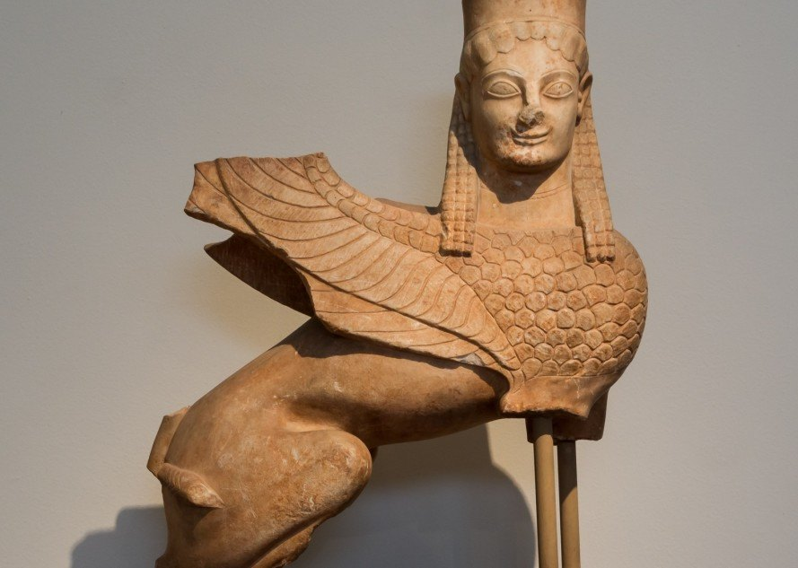 sphinx, Egypt, China, ancient statue, excavations, tomb, Chinese tomb, rare Chinese sphinx, Silk Route, Silk Road