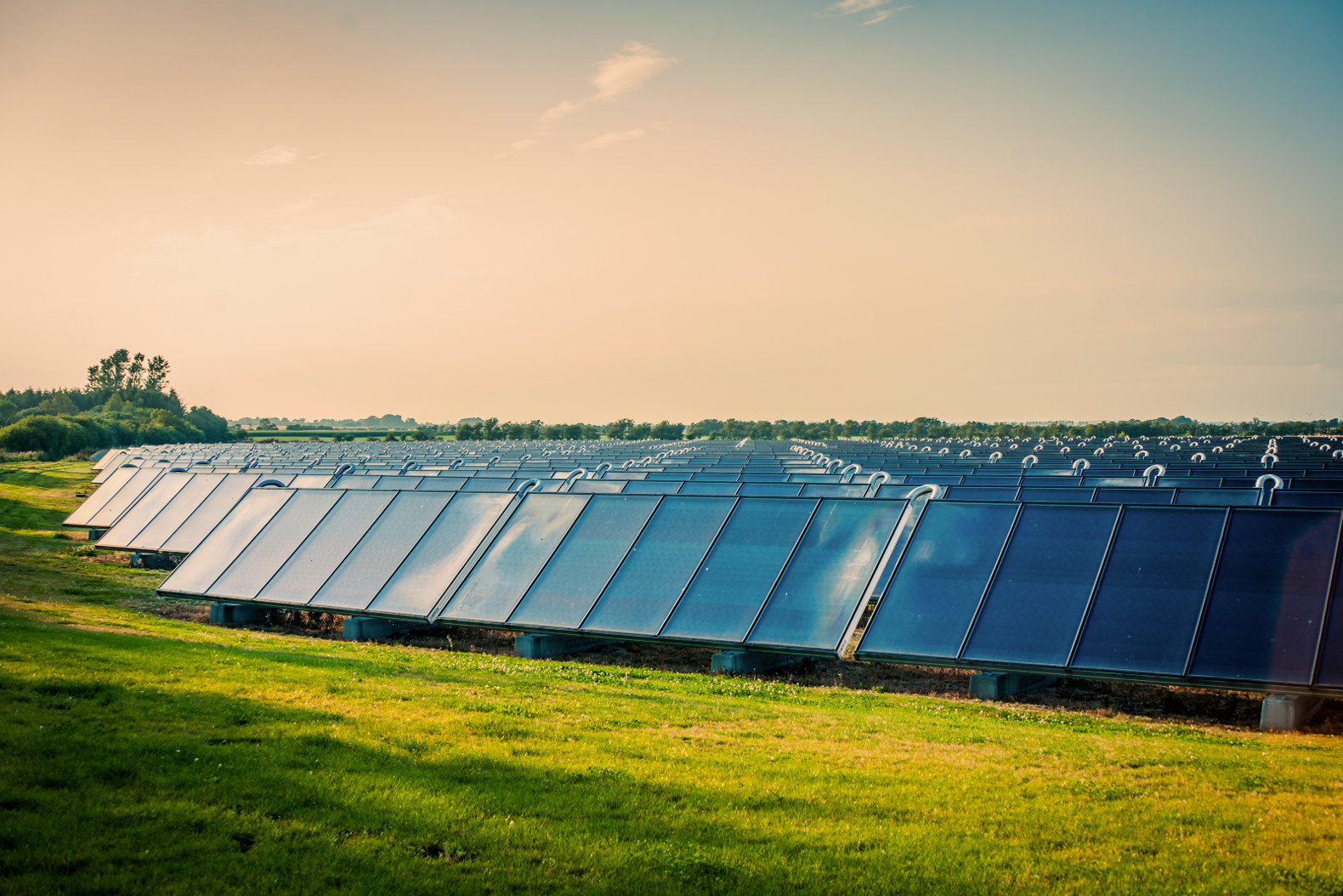 With a special glass coating, these solar panels can capture sunlight from almost any angle