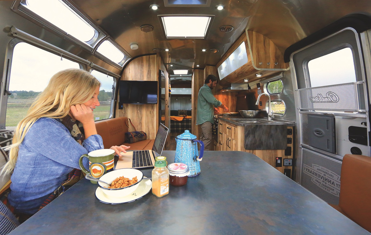 Iconic Airstream Gets A Magnificent Revamp To Celebrate