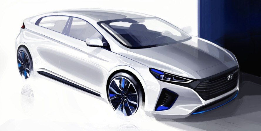 hyundai, hyundai ioniq, ioniq, electric car, green car, electric motor, hybrid, plug-in hybrid, green car, green transportation
