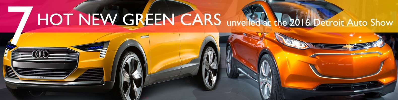 7 hot green cars just unveiled at the 2016 detroit auto show
