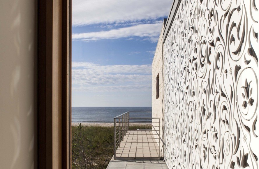 Aamodt Plumb, Hamptons, Hamptons beach house, architecture, Long Island, Long Island architecture, concrete, hurricanes, Atlantic Ocean, Shinnecock Bay, Hamptons vacation homes, modern architecture, modern design