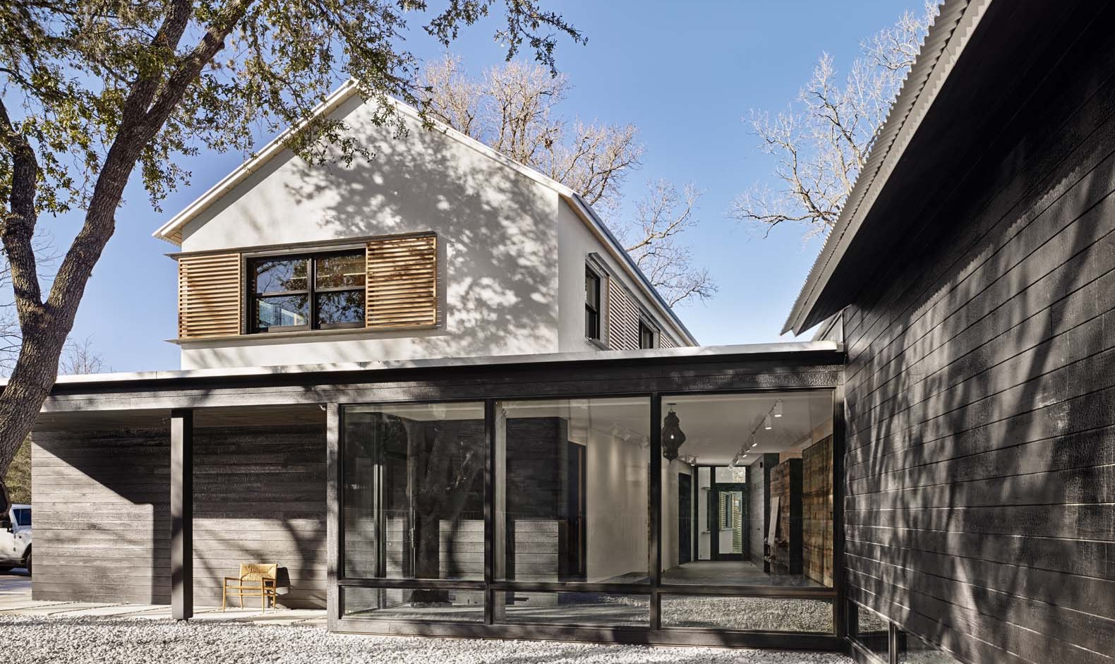 Aamodt / Plumb Architects' modern Texas prefab was built in just 12 months  | Inhabitat - Green Design, Innovation, Architecture, Green Building
