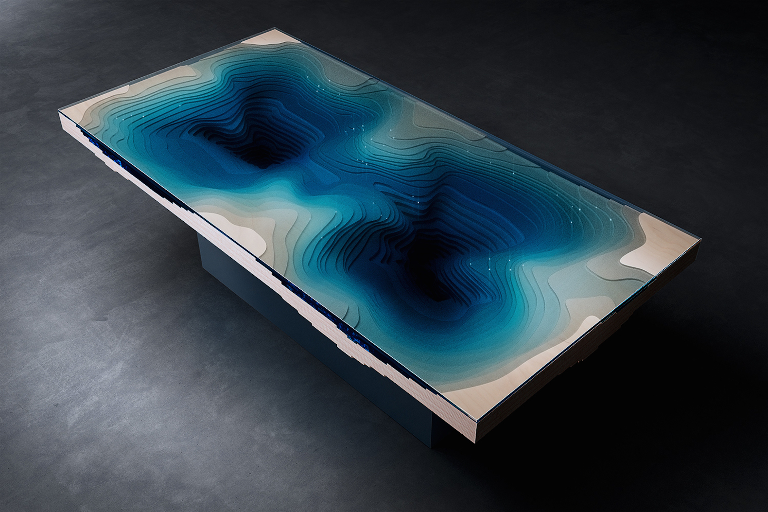 Lose Yourself Inside The Abyss Table S Mesmerizing Ocean