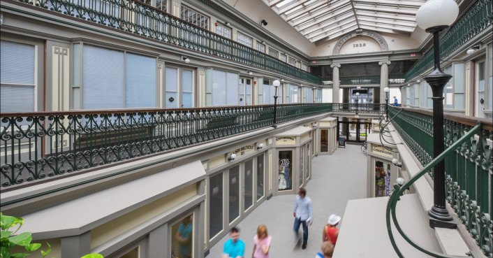 The oldest mall in america now hosts 48 charming low cost micro apartments inhabitat green - Low cost homes charming ...