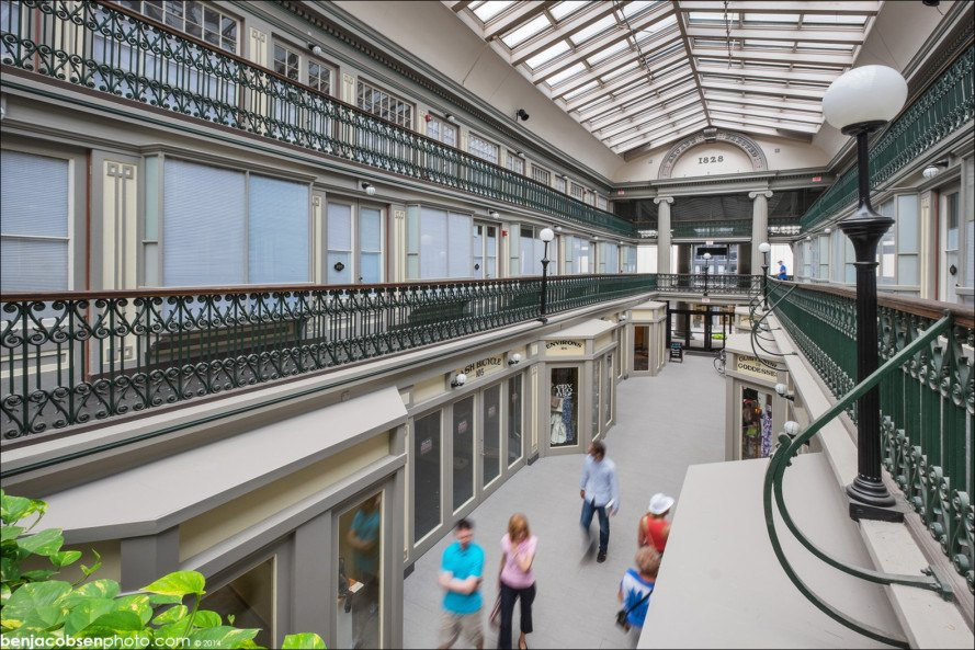 The oldest mall in America now hosts 48 charming low-cost