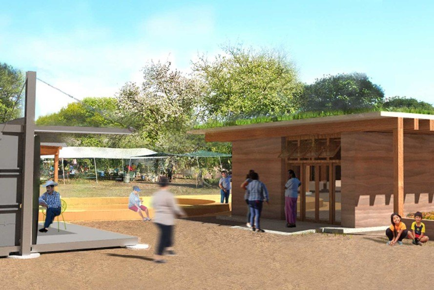 Architecture students design educational center for Huerta ...