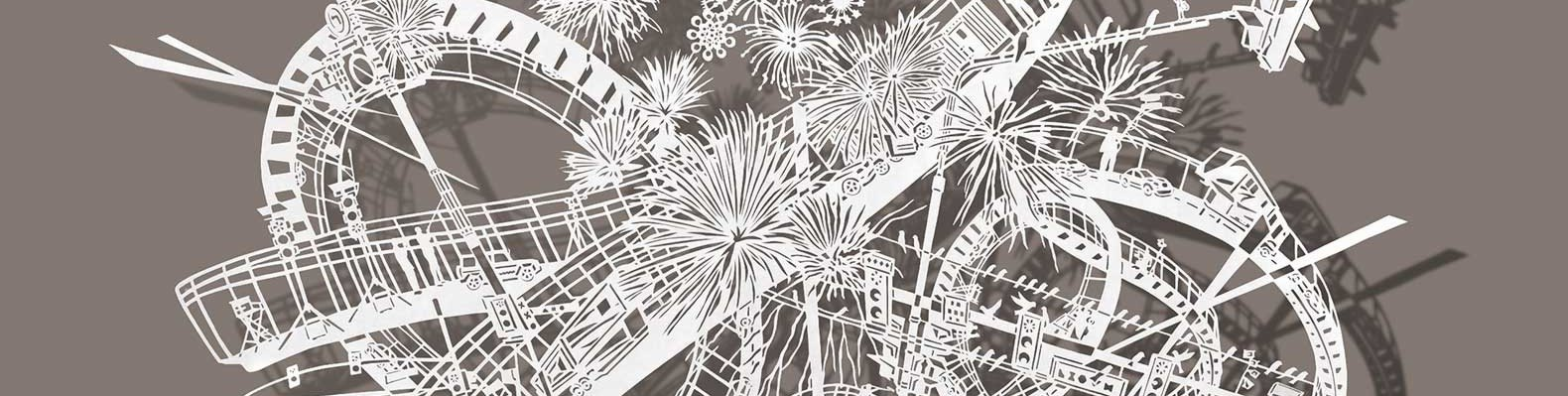 Bovey Lees Intricate Papercut Art Questions The Relationship - Incredible intricately cut paper designs bovey lee