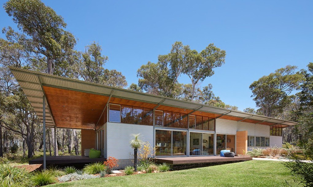 Solar-powered Bush House exemplifies chic eco-friendly