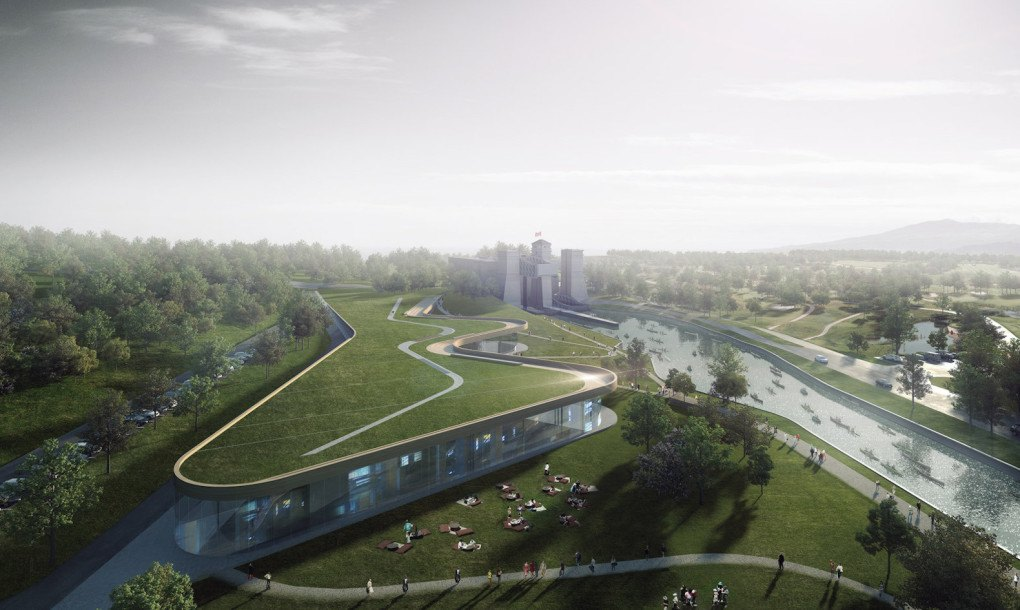 Green Roofed Canadian Canoe Museum Will House The World S