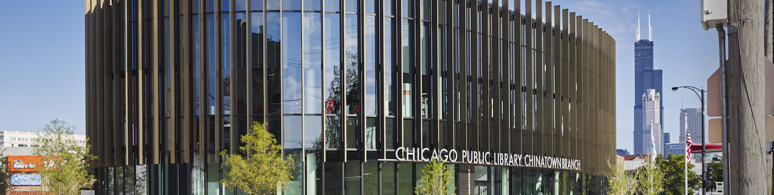 Leed Gold Seeking Chicago Chinatown Library Embodies Ancient Feng Shui