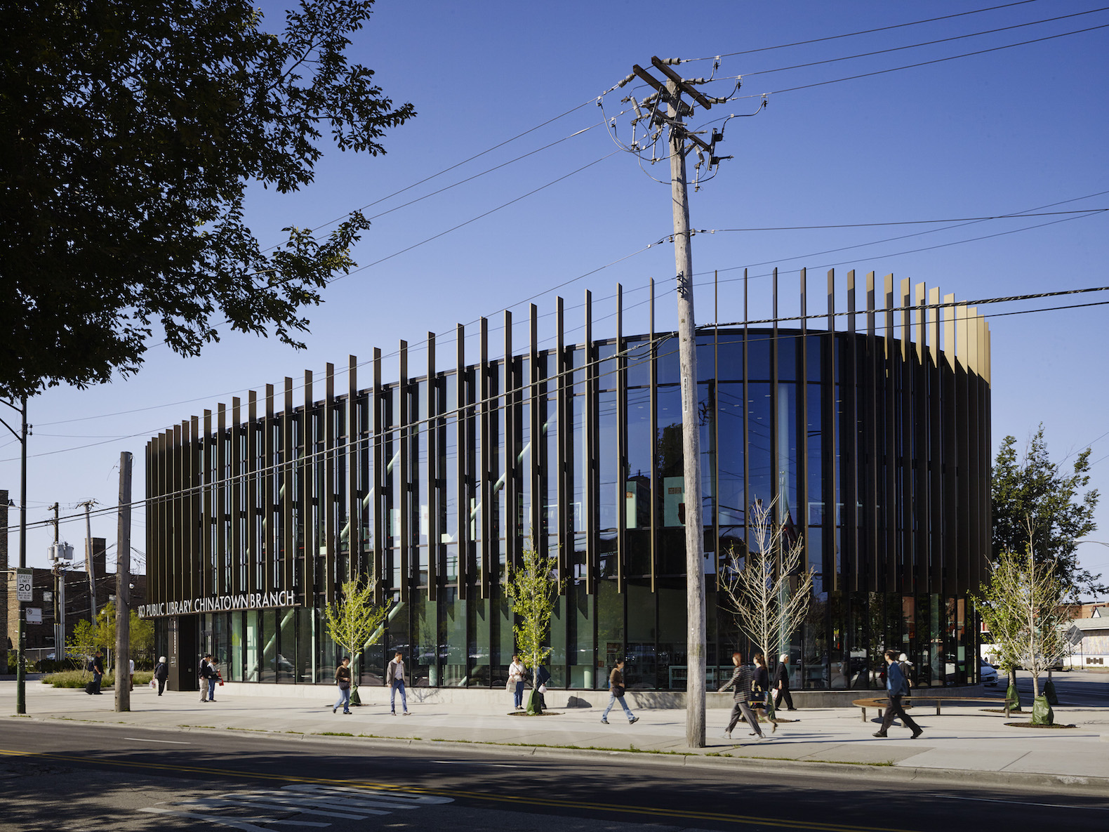 Leed Gold Seeking Chicago Chinatown Library Embodies Ancient Feng