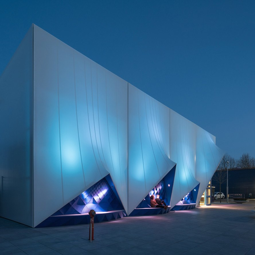 Europe Building 3d-printed Facade By Heijmans And DUS
