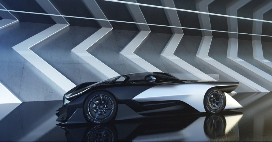 Faraday Future Unveils Insane Horsepower Electric Car At Ces