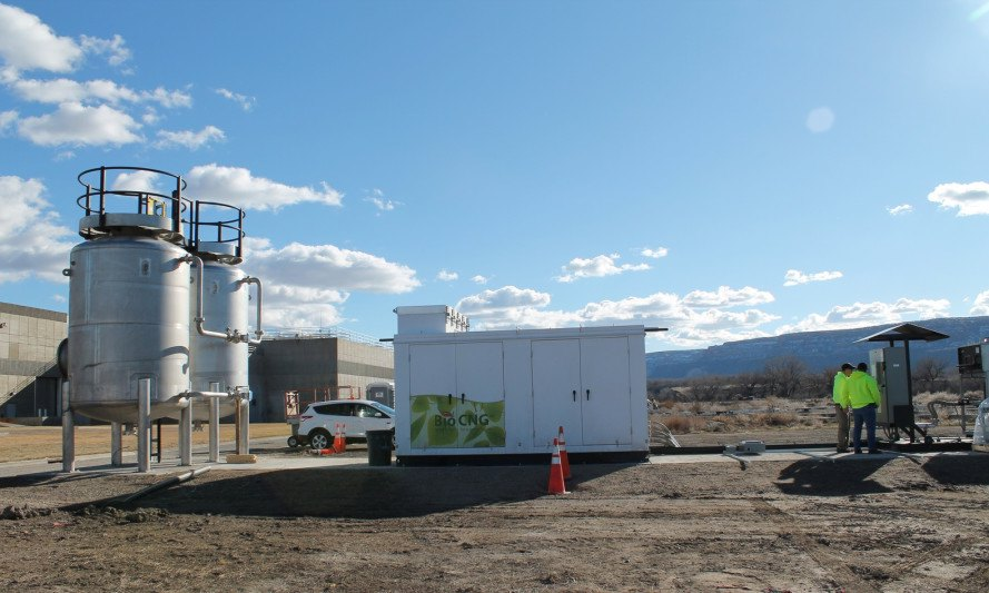 colorado, grand junction, poo power, renewable natural gas, biomethane, biogas, wastewater treatment plant, renewable fuel