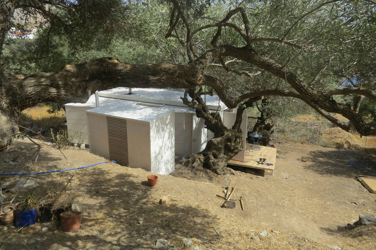 Tiny prefab home is a dreamy off grid retreat on the island of crete inhabitat green design - The mobile house on the unstable island ...