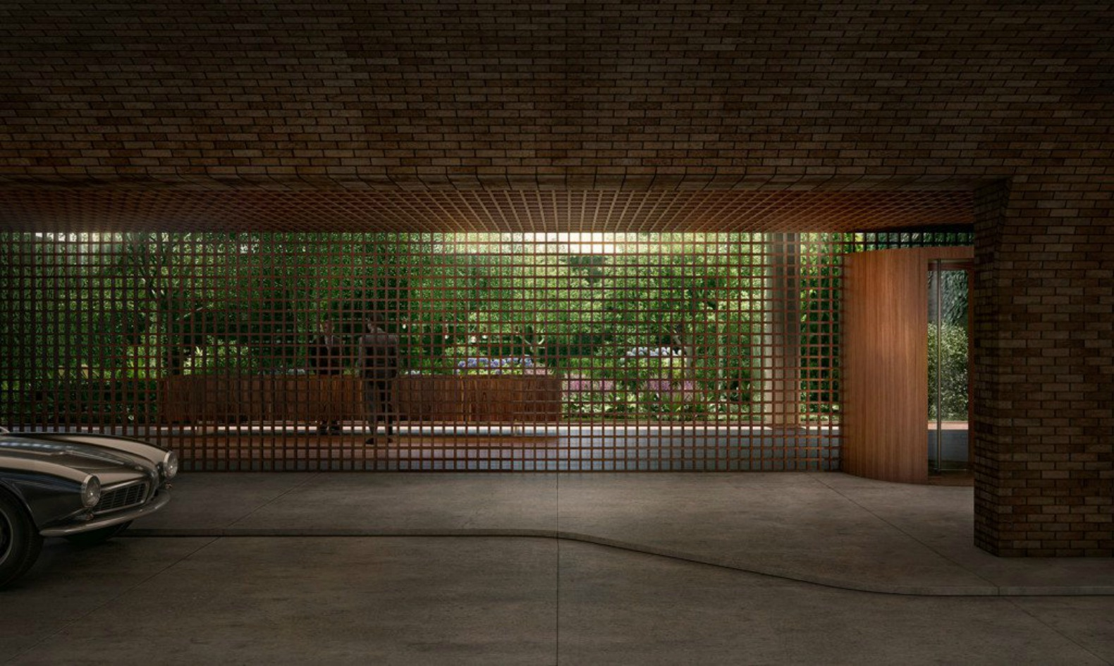 Isay Weinfeld's High Line-hugging condos to be topped by Eden-like garden oasis