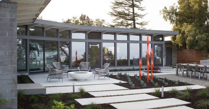 Mid-century home by Frank Lloyd Wright apprentice receives an