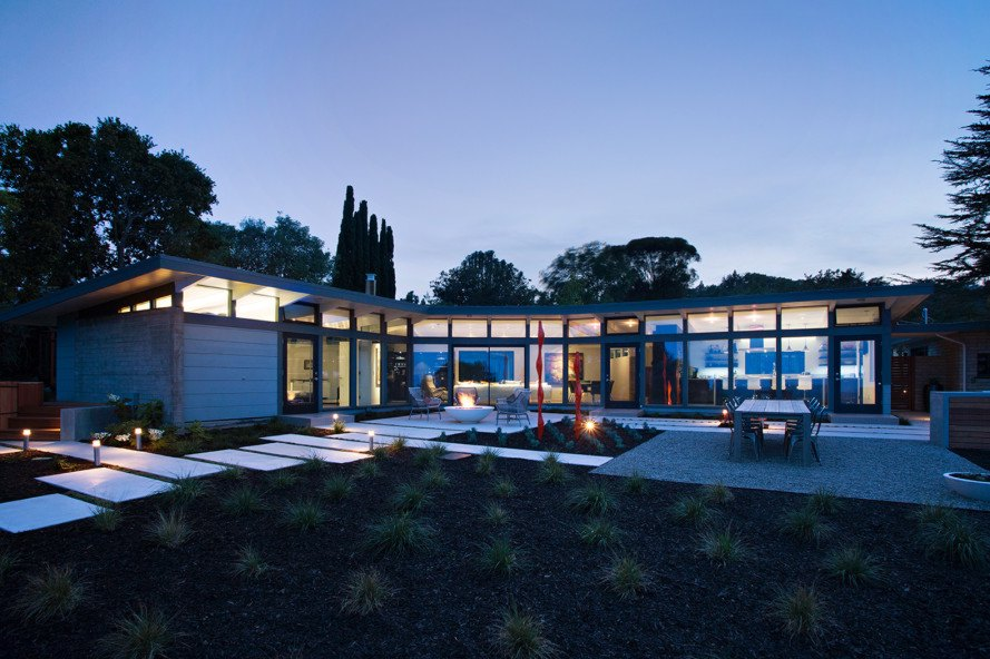 klopf architecture, outer space landscape architects, flegels construction, ellis jacobs, frank lloyd wright, frank lloyd wright apprentice, california architecture, silicon valley, mid-century home, mid-century update
