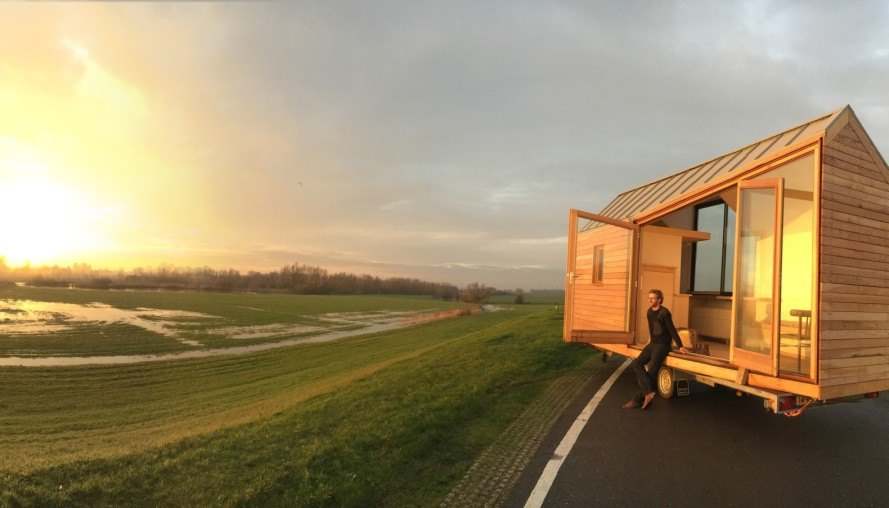 tiny homes, Netherlands, Daniël Venneman, Porta Palace, tiny houses, Dutch design, tiny home design, tiny home village, sustainable design, affordable homes, Daans Design