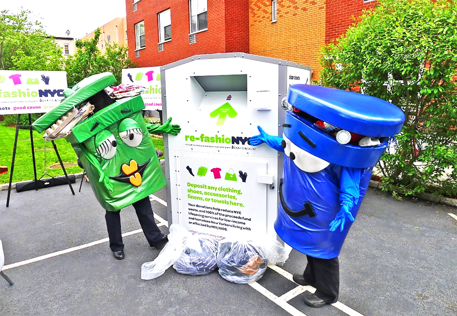 Did You Know That You Can Get A Free Clothing Recycling