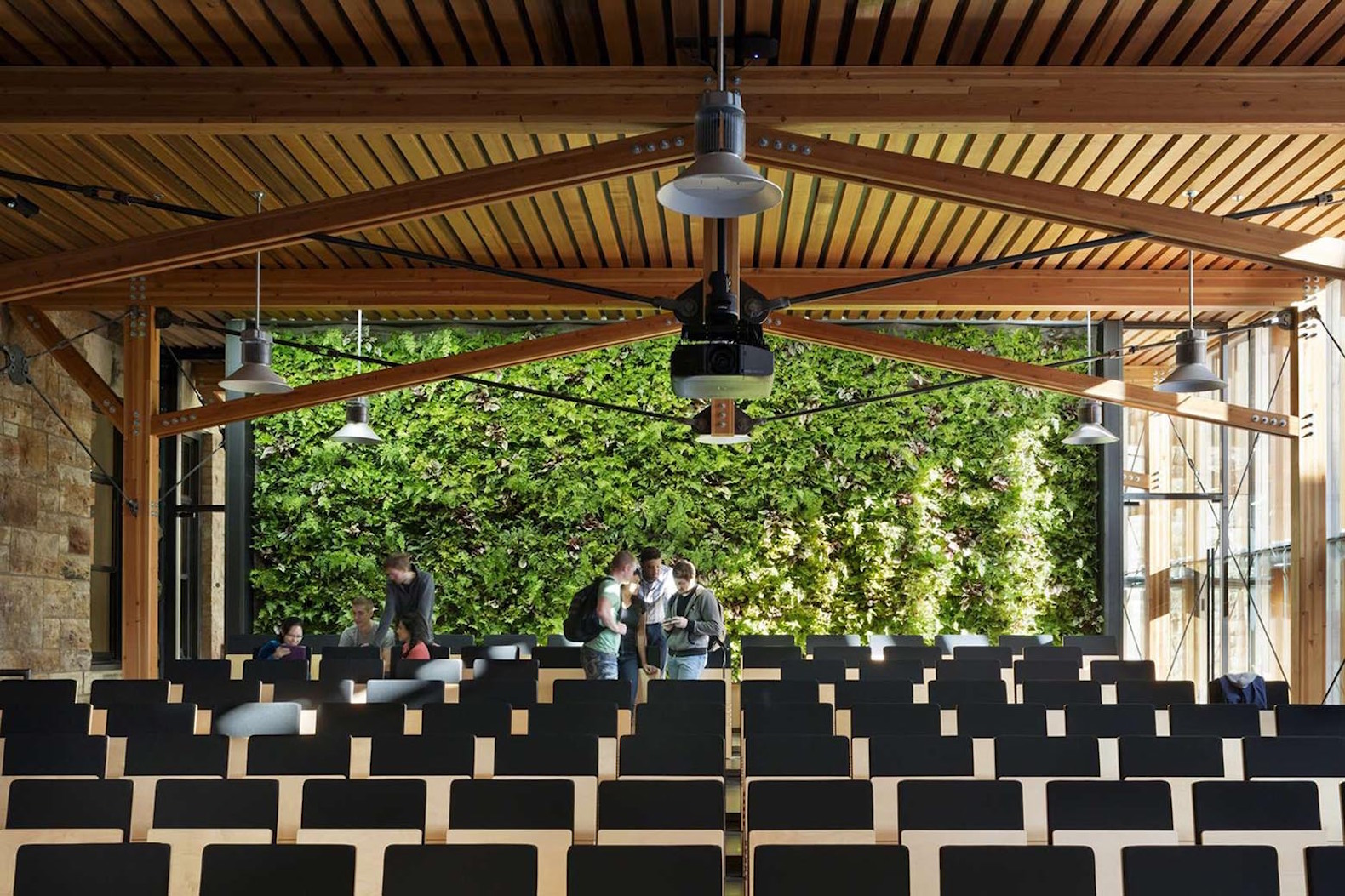 Students design and build a gorgeous LEED Platinum-seeking