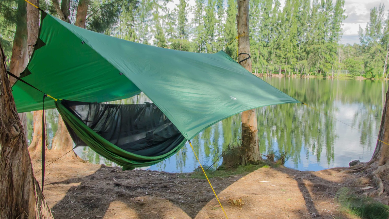 Apex Camping Shelter Is A Portable Lightweight Tarp That