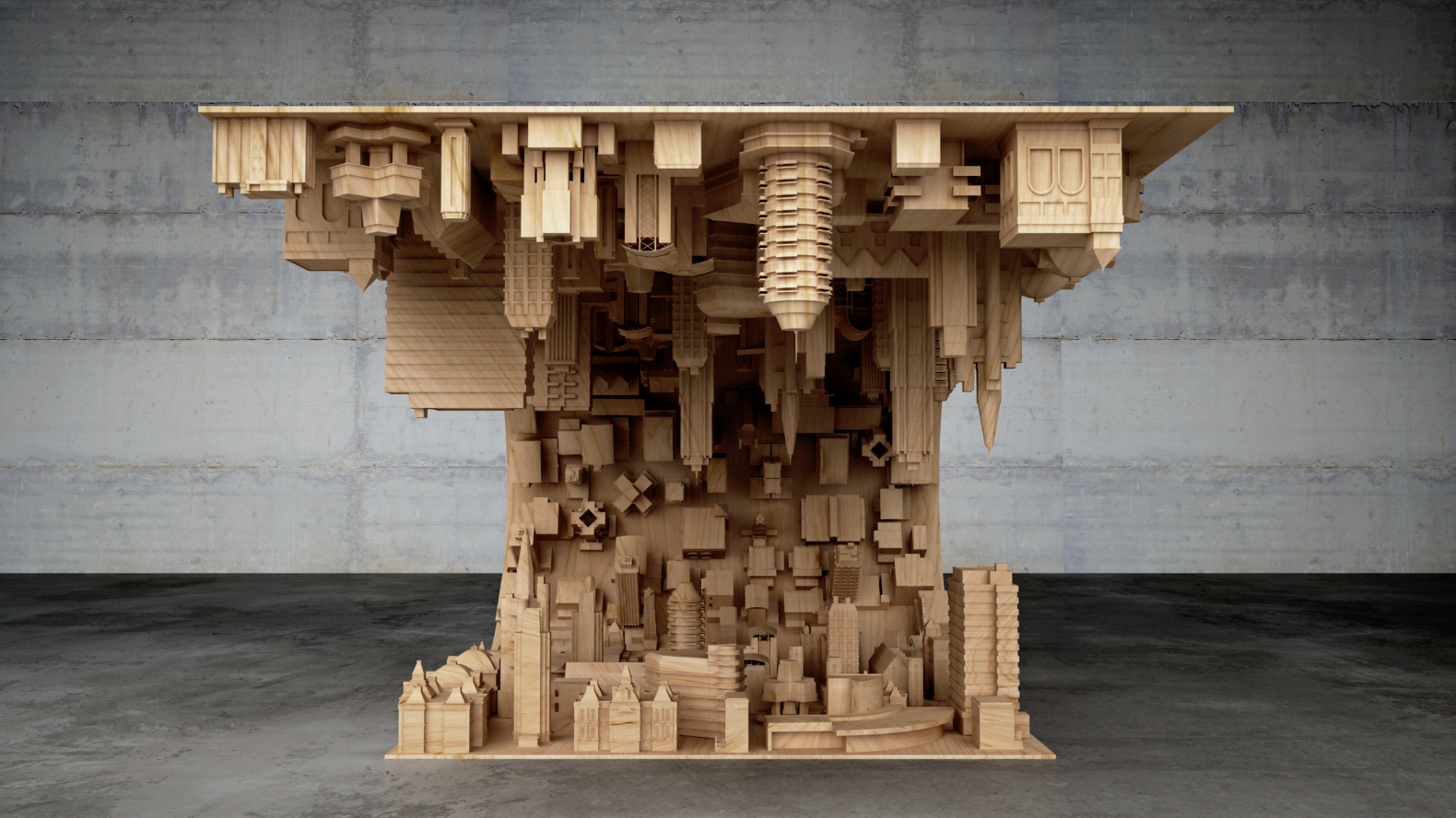 inceptioninspired coffee table bends the mind with an