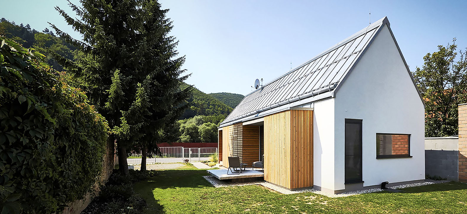Slovakian home uses steko a unique construction method from switzerland