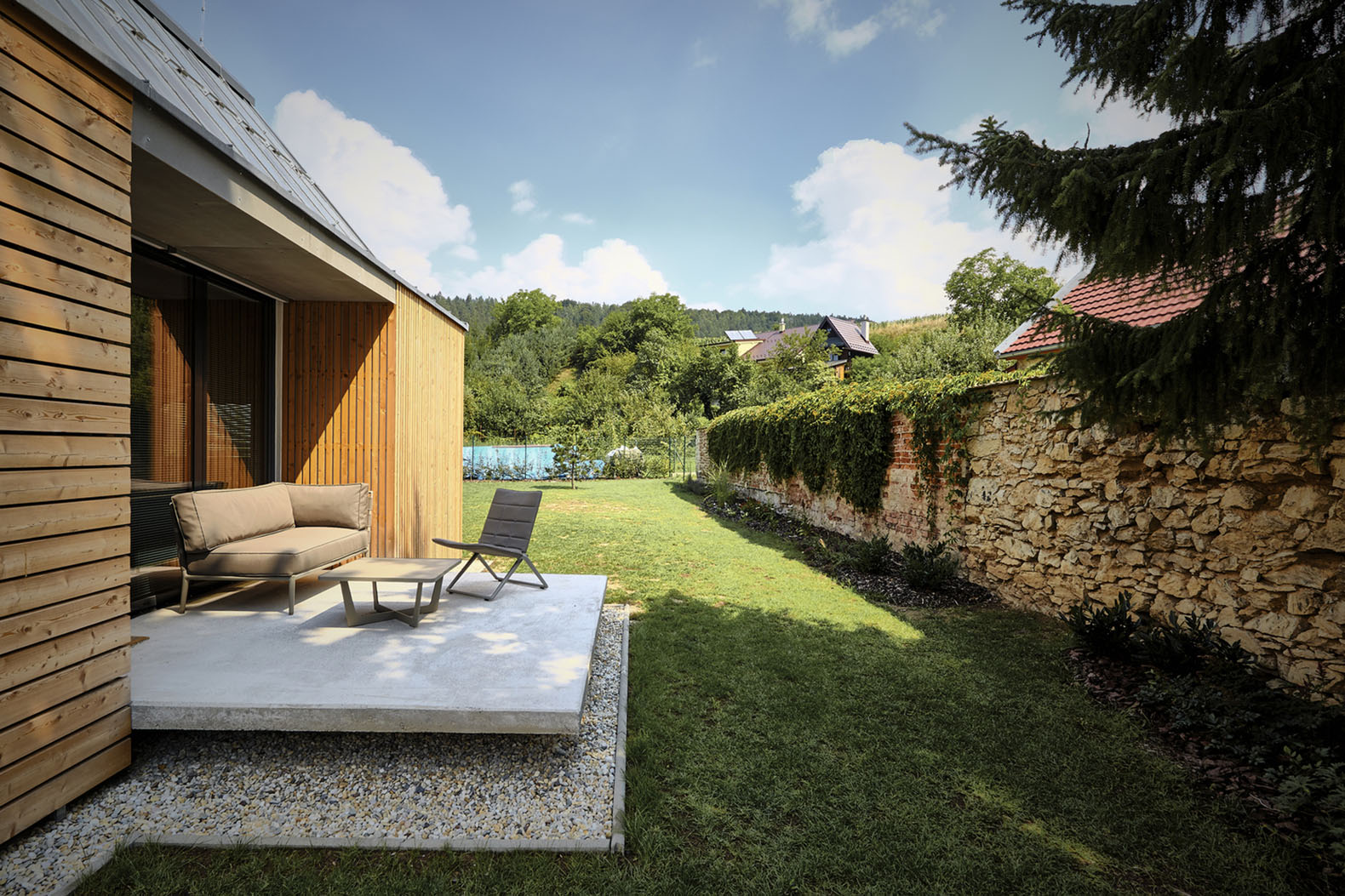 Wooden Brick House, Slovakia, Jaro Krobot, Green Architecture, Reclaimed  Materials, Traditional