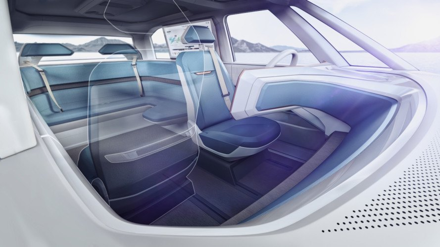 vw, volkswagen, volkswagen budd-e concept, volkswagen concept, vw concept, CES, 2016 CES, consumer electronics show, electric car, green car, electric motor