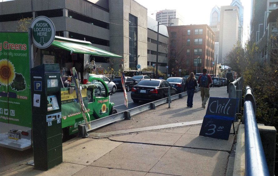 food truck, Philadelphia, solar power, electric vehicles, Philly Greens, renewable energy, electric cars