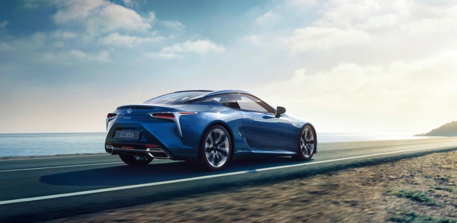 The Lexus Lc 500h May Be The Sexiest Hybrid Ever Inhabitat