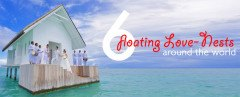floating architecture, romantic getaways, valentine