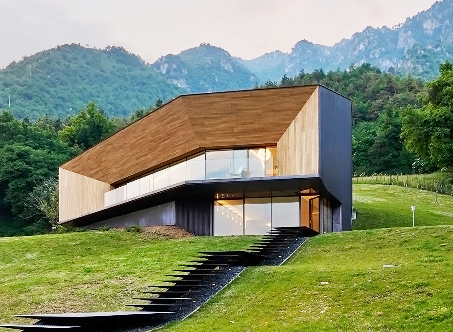 Extraordinary Alpine Villa In Italy Is Heated And Cooled By The Earth