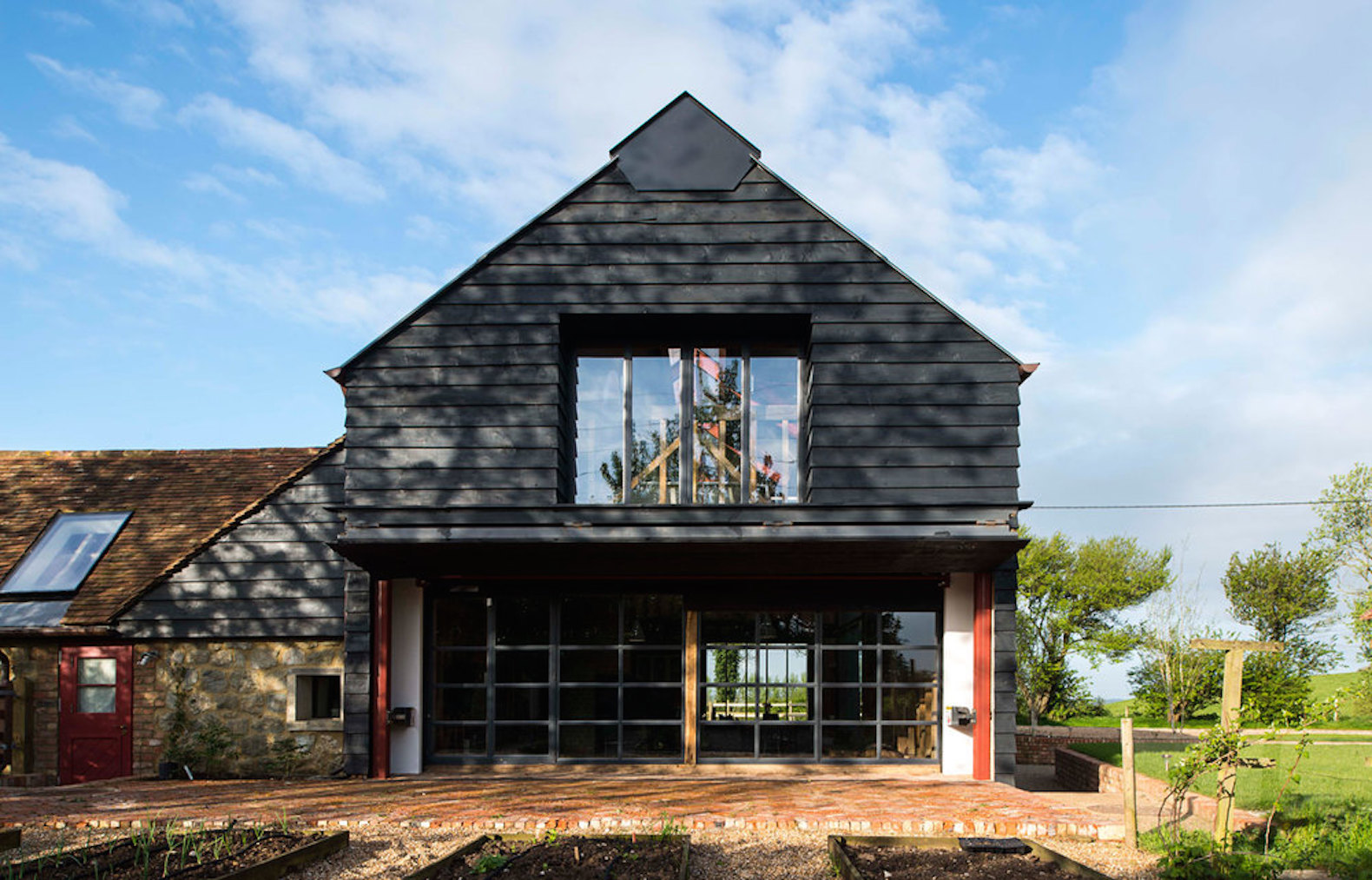 Ancient Party Barn blends historic preservation with energy-smart design