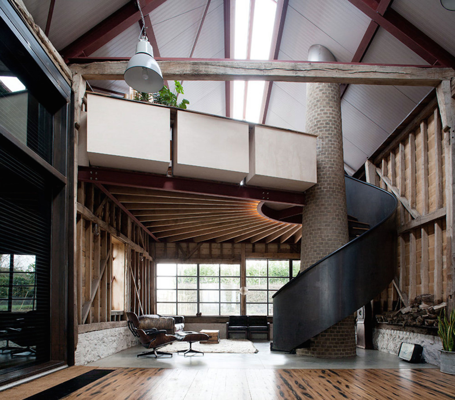 Renovated Barn Homes: Ancient Party Barn Blends Historic Preservation With Energy-smart Design