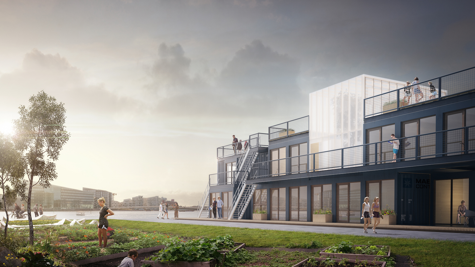 Affordable shipping container village can pop up almost anywhere in ...