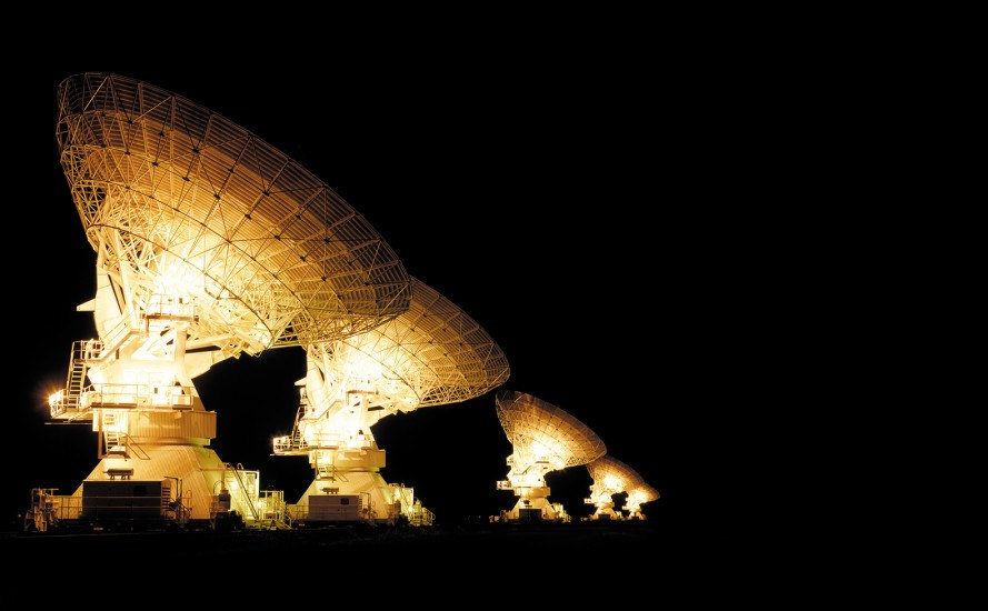 Telescope, fast radio bursts, radio waves, aliens, astronomy, Australia