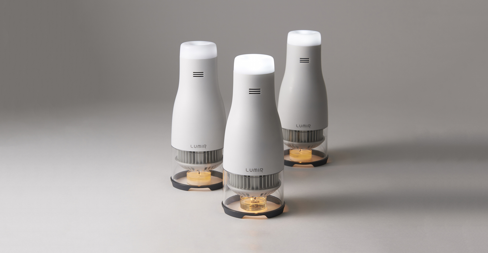 eco friendly lighting. Battery-free Lumir C Is An LED Lamp Powered Solely By Candle Flame Eco Friendly Lighting B