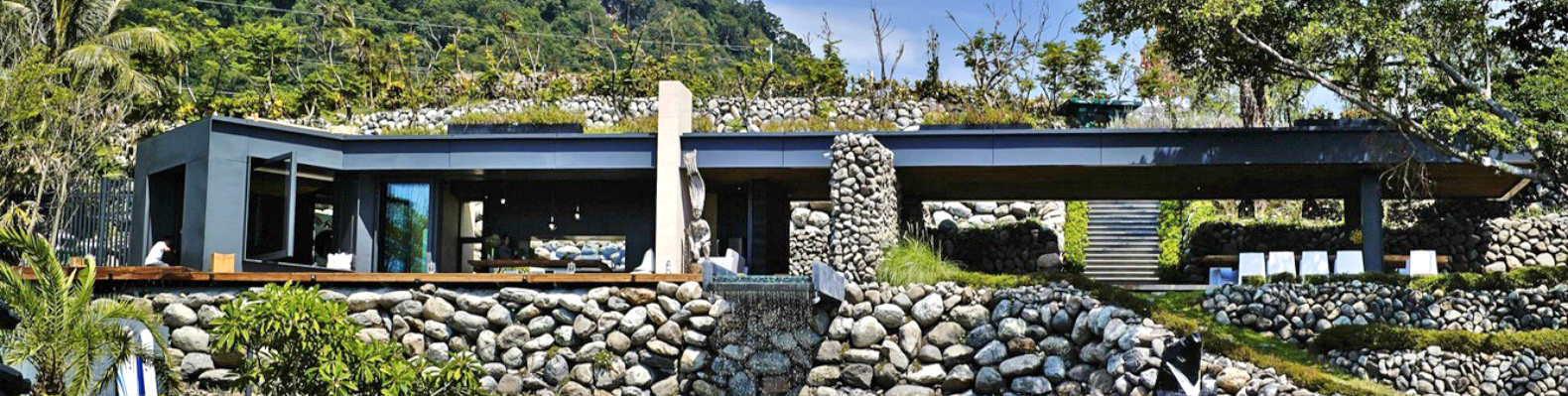 Superb Au0027tolan House Is A Seafront Home Built With Rocks Excavated During Its  Construction | Inhabitat   Green Design, Innovation, Architecture, Green  Building