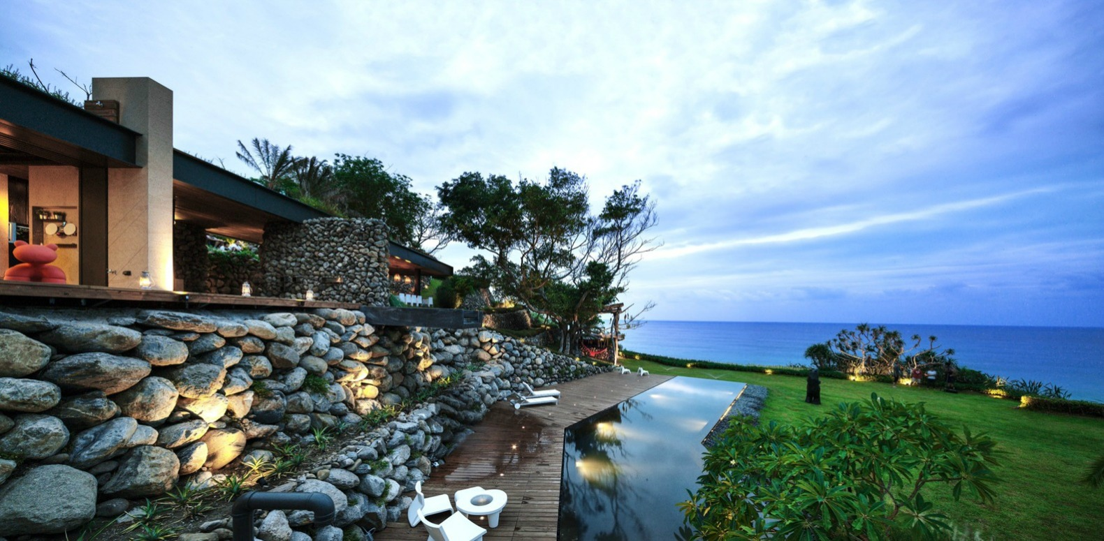 Create + Think Design Studio, Atolan House, Rock House, Taiwan Home, Rock