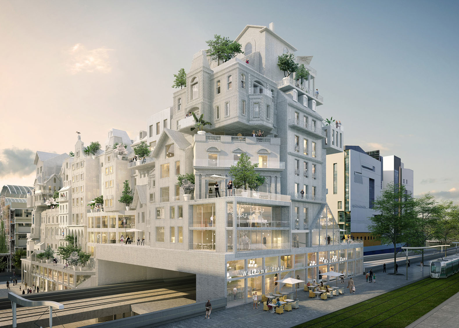 P riph riques 39 affordable housing proposal reinvents paris through crowd building inhabitat - Innovative ideas in apartments ...